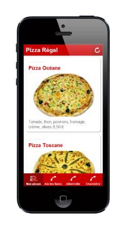Pizza à emporter aixlesbains