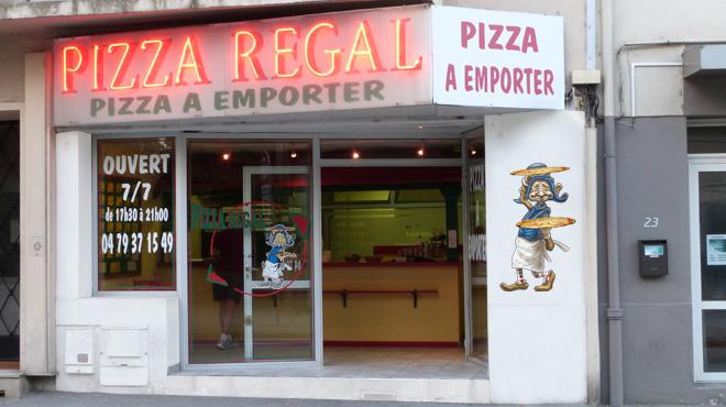Pizza régal à emporter albertville