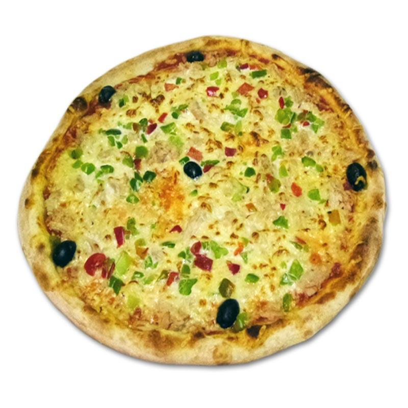 Pizza océane à emporter