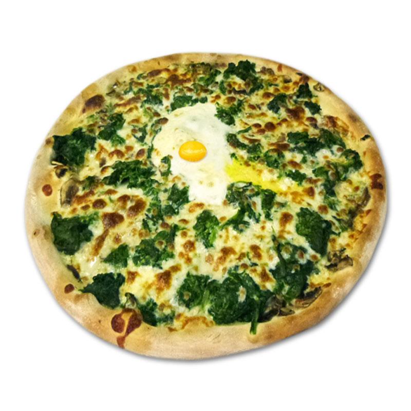 Pizza popeye à emporter