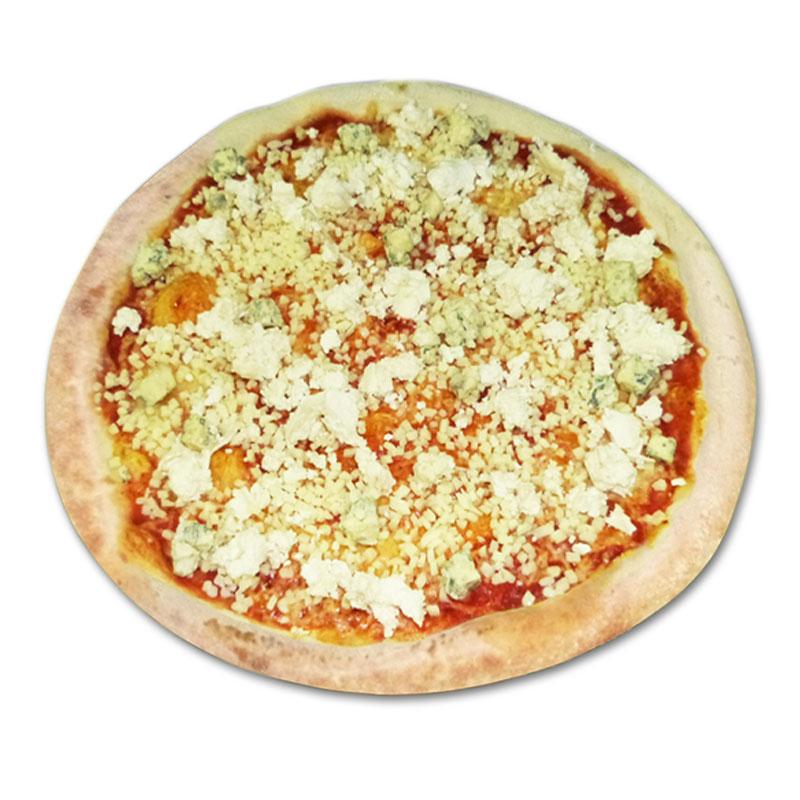 Pizza quatre formages à emporter