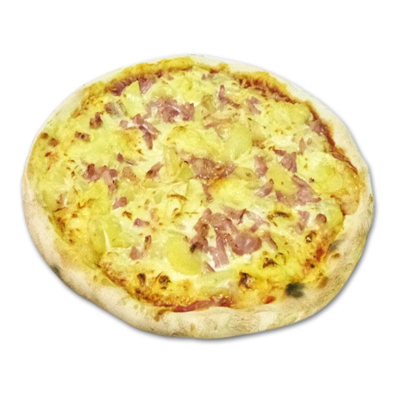 Pizza savoyarde à emporter