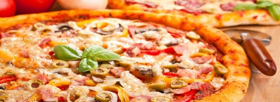 Pizza andalouse à emporter à aixlesbains et chambéry