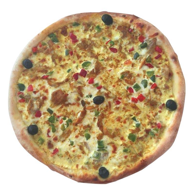 Pizza bombay à emporter à aix les bains et chambéry