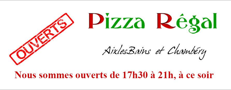 Pizza à emporter aix-les-bains et chambéry de 17h30 à 21h